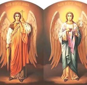 Sf. Arh. Mihail si Gavriil