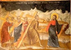 Luarea Crucii urmare Hristos