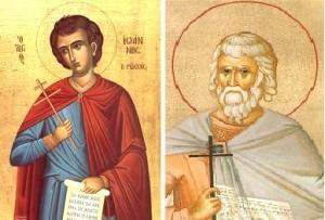 Sf Ioan Rusu - Sf Iuliu Veteranul