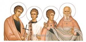 Sfintii Mucenici Donat Romul Silvan Venust