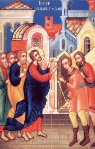 Vindecarea doi orbi si un mut - Capernaum