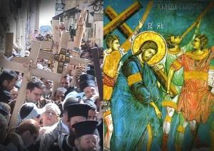 Duminica dupa Inaltarea Sfintei Cruci - Luarea Crucii si urmarea lui Hristos