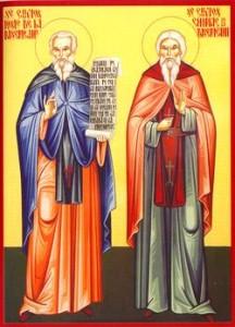 Sfinţii Cuvioşi Iosif şi Chiriac de la Bisericani