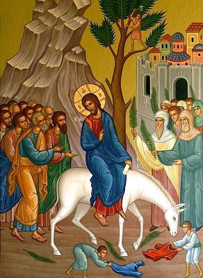 Intrarea in Ierusalim - Floriile