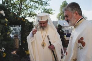 """Parintele Patriarh Daniel, Parintele Liviu Popa - Biserica """"Belvedere"""" Bucuresti"""